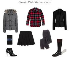 Classic Plaid Button Down   How She'd Wear It with Style and Cheek