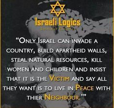 The Zionists are murderous monsters.