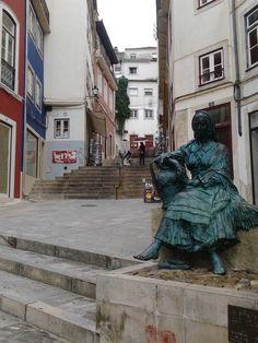 Escadas do Quebra-Costas, Coimbra, Portugal  http://maladviagem.blogspot.pt/ https://www.facebook.com/Maladviagem/