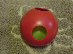 Jolly Ball's Teaser Ball. www.toytails.wordpress.com for test on durable toys.