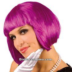 Tu mejor peluca violeta flequillo cabaret pr 8589100 8df9aadc6e1