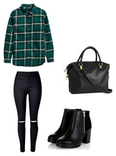 """Untitled #9"" by dorina-meszaros on Polyvore featuring H&M and WithChic"