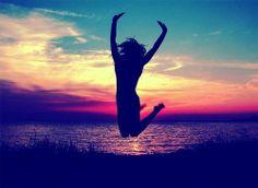Jump. beach, colorful, girl, jump, photography