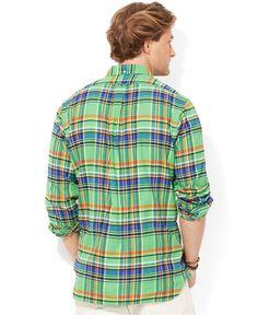 bd0d980bc27 Men s Green Plaid Bleecker Shirt