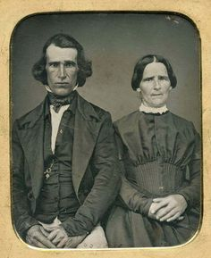 1/6 PLATE DAGUERREOTYPE PHOTO PORTRAIT OF A COUPLE | eBay