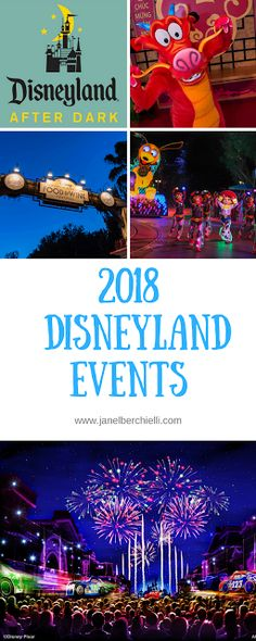 Events You Don't want to Miss at Disneyland (2018) *Updated*