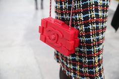 Street look à la Fashion Week de Paris automne-hiver 2014-2015, Jour 8