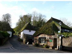 Cockington Village center, near Torquay, England.