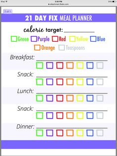Day Fix Grocery List One Of The Things I Love Most About The