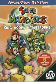"Fun and entertaining cartoon series inspired by the popular Nintendo video game featuring Super Mario Bros.  DVD collection includes 6 episodes to entertain fans of Mario and Luigi.  Each episode is about 30 minutes long.  Mario and Luigi protect the Mushroom Kingdom from the dangerous King Koopa who is wreaking havoc after his return from the Banishment Zone.  Episodes - ""Reptiles in the Rosegarden,"" ""Sneaky, Lying, Cheating Giant Ninja Koopas,"" ""The Beauty of Kootie,"" ""Todd"