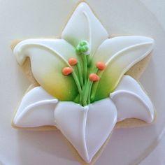 Lilies ~ Clough'd 9 Cookies