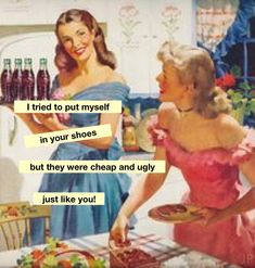 Liverpool Lass - Liverpool Lass The Effective Pictures We Offer You About diy A quality picture can - Funny As Hell, Haha Funny, Funny Jokes, Hilarious, Retro Humor, Vintage Humor, Sarcasm Humor, Ecards Humor, Retro Quotes