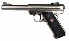 """Ruger Mark III 22LR, 5.5"""" Stainless SteelLoading that magazine is a pain! Get your Magazine speedloader today! http://www.amazon.com/shops/raeind"""
