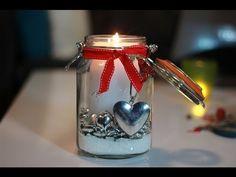 Domowe DIY - Świecznik w stylu Shabby Chic. Ozdoby Bożonarodzeniowe - odcinek 2