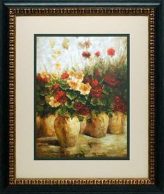 'Fragrant Memories' by Ian Cook Framed Painting Print