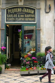 the most beautiful flower shop in lisbon: pequeno jardim