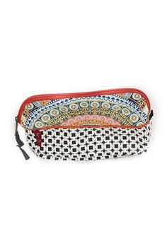 Custom designed Tigerlily printed make up case with zipper opening. Tear and water resistant.   Travel Makeup Case by TIGERLILY. Accessories - Travel Los Angeles, California