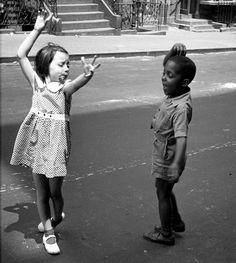 Bailando en la calle, Nueva York, 1940