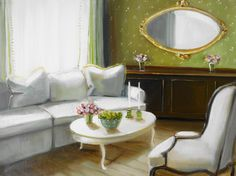 """A Decorated Room"" by Janet Hill"