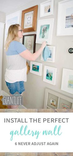 How we stopped constantly adjusting our gallery wall with this amazing product |Picture Frames | Gallery Wall | Perfect Gallery Wall | Gallery Wall Adjusting | DIY Gallery Wall | Beehive Picture Hangers | Hanging Picture Frames | Hanging Frames | Hanging Pictures | Adjusting Frames