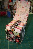 Envelope box / house recipe book