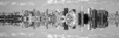 Manhattan by Komisantto New York Cityscape, New York Skyline, Manhattan, Landscapes, Travel, Scenery, Trips, Paisajes, Viajes