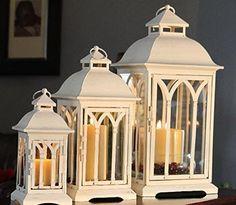 3pc Set of Outdoor Patio Lanterns - Antique White, http://www.amazon.com/dp/B007FZHQAU/ref=cm_sw_r_pi_awdm_ft8cxb02QJQA8