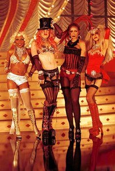 """Lady Marmalade"" Christina Aguilera, Lil' Kim, Mýa, and Pink"