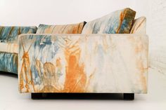 Rare Milo Baughman Sectional Sofa | From a unique collection of antique and modern sectional sofas at https://www.1stdibs.com/furniture/seating/sectional-sofas/