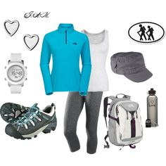 Day hike, created by jayneann1809 on Polyvore