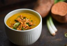 Fall Recipes, Soup Recipes, Healthy Recipes, Healthy Food, Thai Red Curry, Sugar Free, Paleo, Beans, Food And Drink