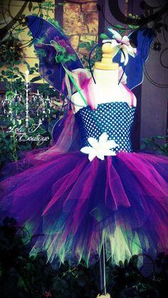 LARGER Fairy Fantasy Tutu Dress   ALL Girls Sizes by LolaJBoutique, $64.00