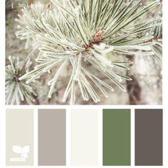 Winter color theme