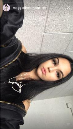 Maggie!!! Aesthetic Makeup, Aesthetic Girl, Pretty Girls, Cute Girls, Claudia Tihan, Maggie Lindemann, Foto Casual, Selfie Poses, Instagram And Snapchat
