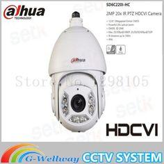 Dahua HD CVI 2MP 1080P Speed Dome PTZ Camera SD6C220I-HC 20X ZOOM Surveillance Video Camera 100M IR Waterproof IP66