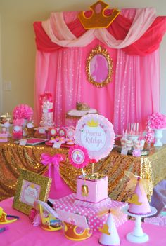 Crown Party Sleeping Beauty Party Disney por KROWNKREATIONS