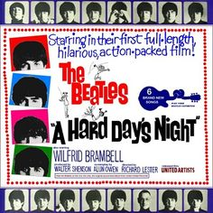 Today in 1964, The Beatles first film 'A Hard Day's Night' opened in 500 American cinemas to rave reviews