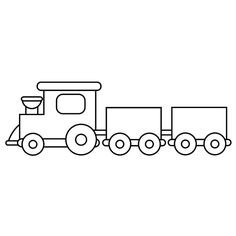 Bus pattern. Use the printable outline for crafts