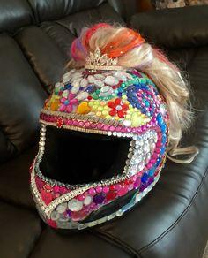 My helmet I made for Florida
