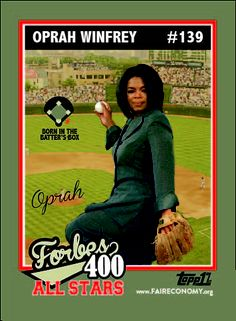 At least O wasn't born on third base.