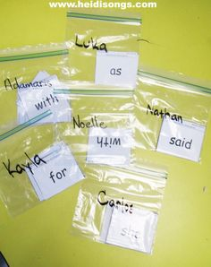 Sight words and sidewalk chalk.give each student a personalized bag of sight words and and a piece of chalk and have them write for a word work center :) Teaching Sight Words, Sight Word Practice, Sight Word Games, Sight Word Activities, Word Study, Word Work, Teacher Hacks, Teacher Binder, Teacher Stuff