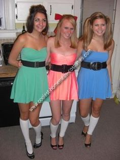 I always wanted to do this with my Red-headed friend and my Blonde friend! ~Powder Puff Girls~
