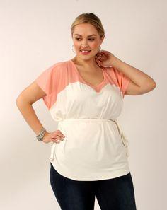 Gracie Plus Size Designer Top $109.00