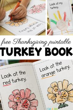 Free Printable Thanksgiving Emergent Reader | Fun-A-Day!