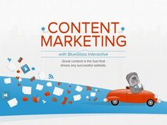 Content Marketing  by BlueGlass Interactive, Inc., via Slideshare