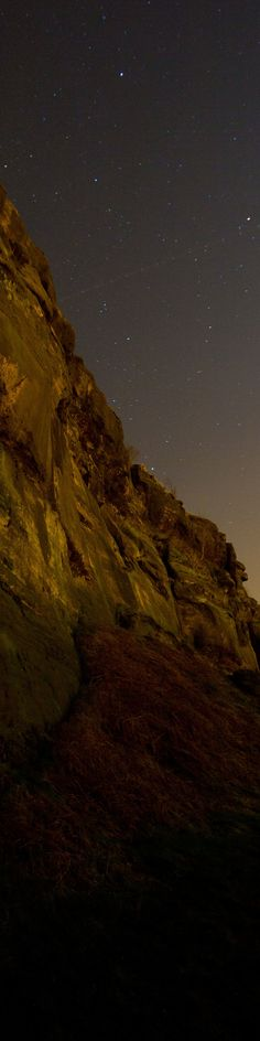 Stars and satellites on Helsby Hill. #mountain #landscape #night JoeHoland86.com
