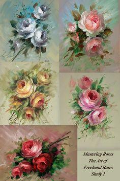 Mastering Roses Study Poster 1 - Jansen Art Store