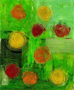 Circles (Acrylic) - 2011 - Arek Jackowski - http://www.jackowskidesign.com/paintings/