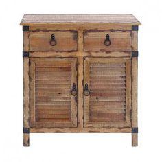 Rustic Wood Cabinet