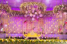 This wedding season make your function a grand one with 24 dazzling wedding stage decoration ideas that you haven't seen in any other wedding. Church Wedding Decorations, Marriage Decoration, Backdrop Decorations, Festival Decorations, Indian Wedding Favors, Wedding Mandap, Telugu Wedding, Wedding Events, Weddings